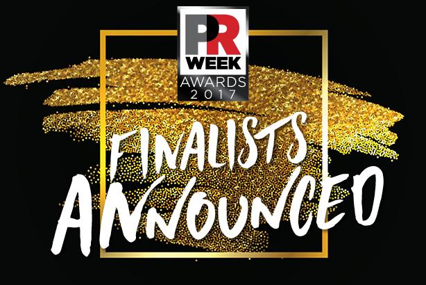 PRWeek US Awards 2017 shortlist revealed