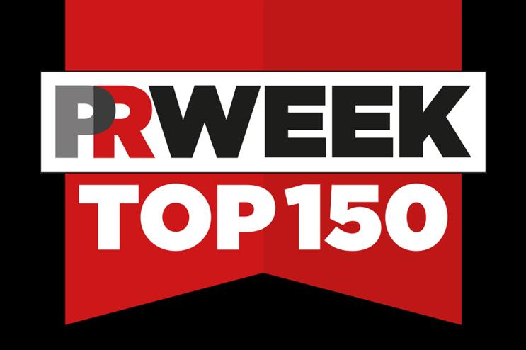 PRWeek UK Top 150 opens for submissions