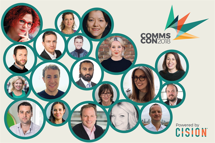 10 reasons to attend Cision's #CommsCon18