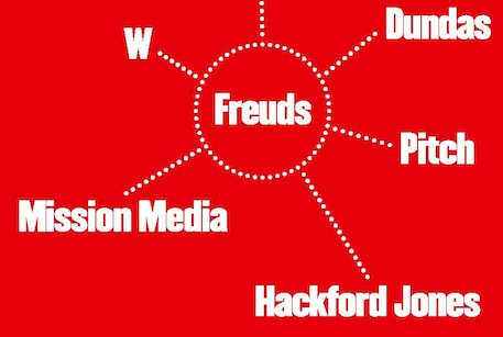 """Freud gave me the confidence to found Hackford Jones"", said Simon Jones"