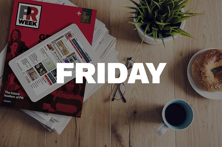 Breakfast Briefing: Five things for PR pros to know Friday morning