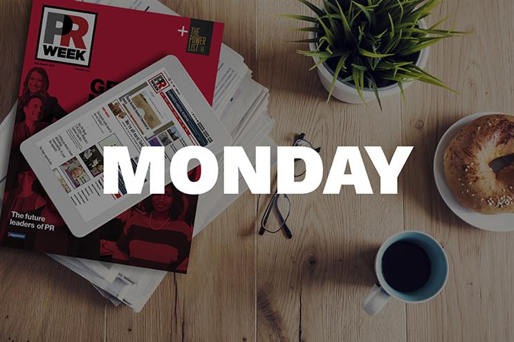 Breakfast Briefing: Five things for PR pros to know Monday morning