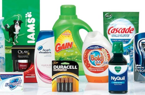 Some of Procter & Gamble's brands