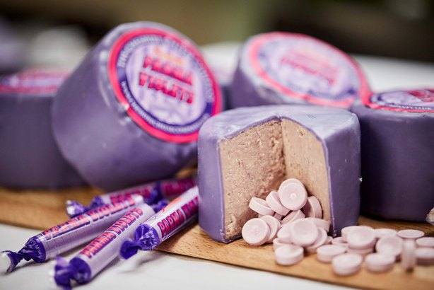 Showcase: RMS PR makes Parma Violets-flavoured cheese for Swizzels