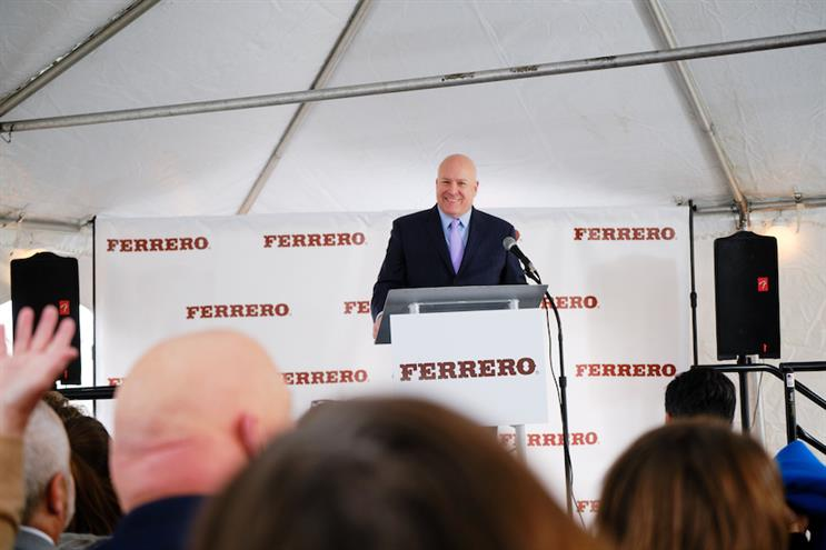 Ferrero CEO Paul Chibe dishes on great marketing, risk-taking and Star Trek