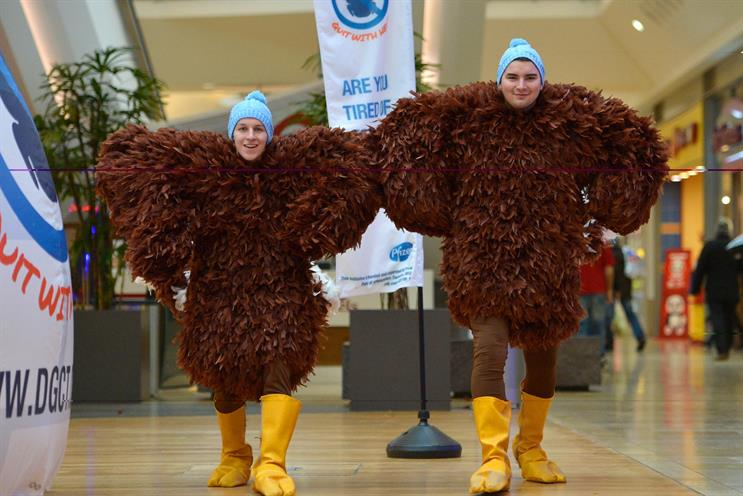 Pegasus: 'Don't Go Cold Turkey' anti-smoking campaign for Pfizer