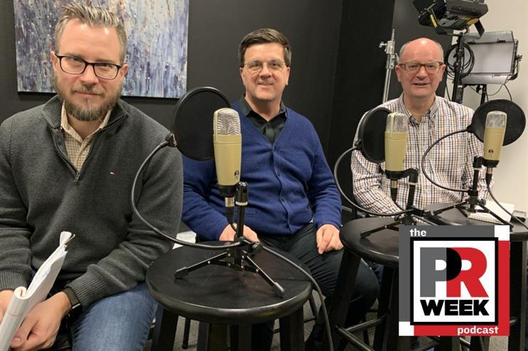L to R: Frank Washkuch, Thomas Moore, Steve Barrett