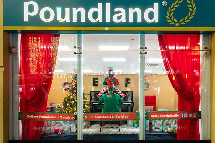 Poundland has leaned heavily on social and PR for its Elves Behaving Badly campaign to save advertising costs.