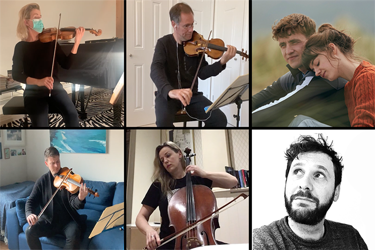 Premier's virtual PR team, led by Lawrence Francis (bottom right), has delivered work for the London Philharmonic Orchestra and Element Pictures