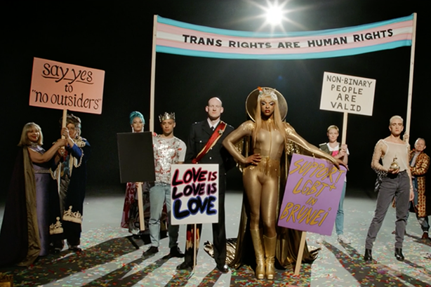 Watch: Pride's moving Jubilee tribute to the Queer revolt