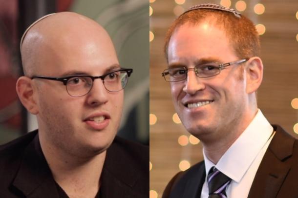 (L-R) Zach Cutler and David Cohen