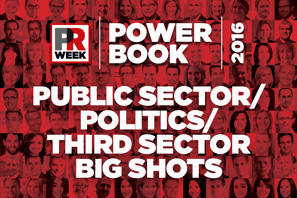 Power Book UK 2016: Top 10 public sector, politics and third sector PR pros