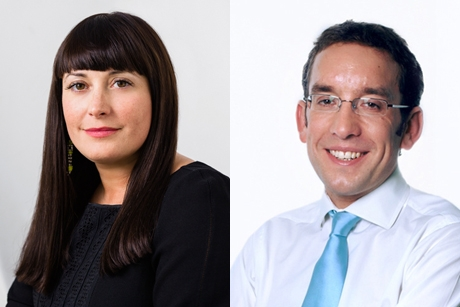 Ruth Warder and Alex Bigg: Handed new roles