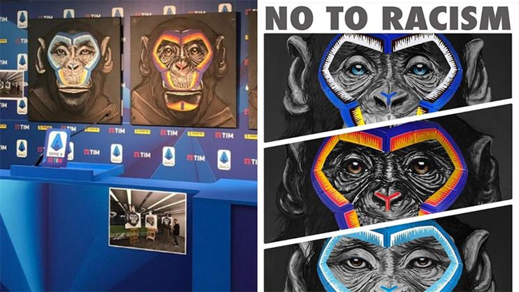 Use of monkeys in Serie A anti-racism campaign 'tone deaf' and 'hurtful' to BAME community