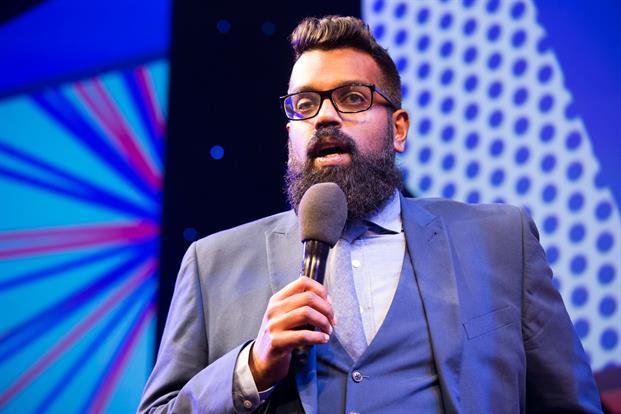 Romesh Ragnathan had the PRWeek Awards crowd in stitches