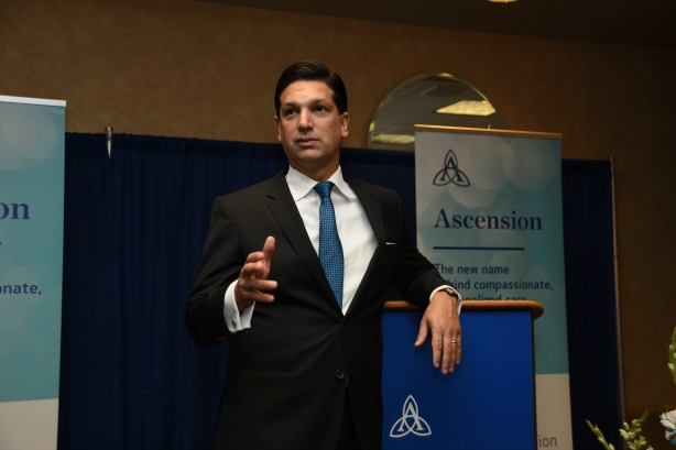 How Ascension's Nick Ragone is rebranding one of the biggest health systems in the U.S.
