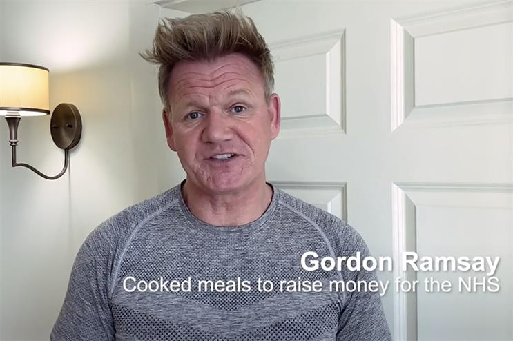 Gordon Ramsay is among the celebrities fronting a campaign urging the public to see their doctor