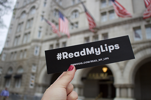 How Mogul's statue of a vagina on the White House lawn launched #ReadMyLips