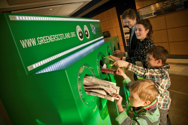 Promoting a greener future for Scotland is one priority outlined in the new comms plan (pic credit: Scottish Government)