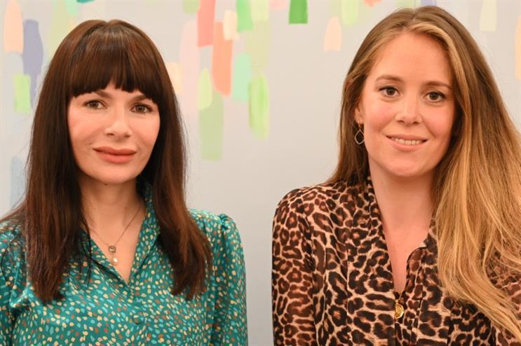New venture: Corinna Field (left) and Ellen Durrant