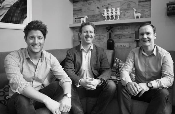 Left to right: Alex Ross, Jonny Murch and Chris Argyle-Robinson