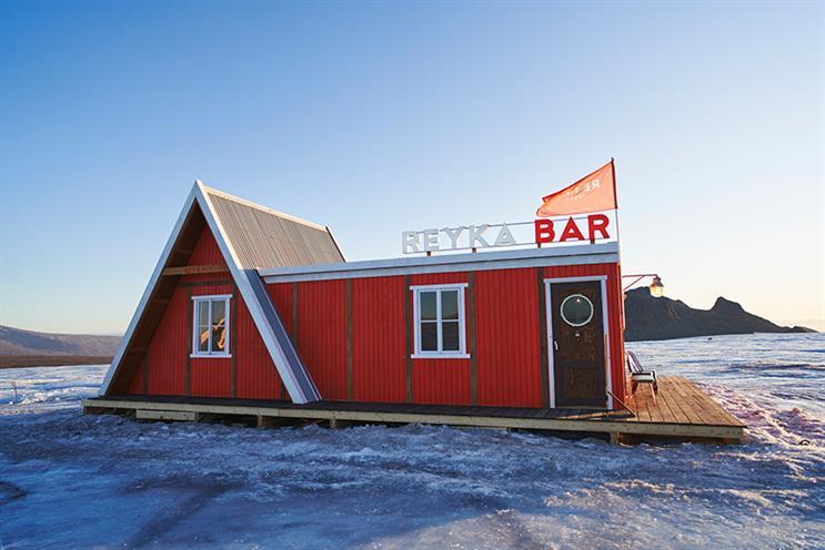 Watch: Vodka brand launches world's first glacier bar