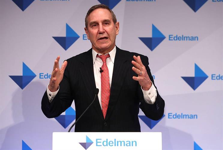 Richard Edelman: 'Make progress, not promises'