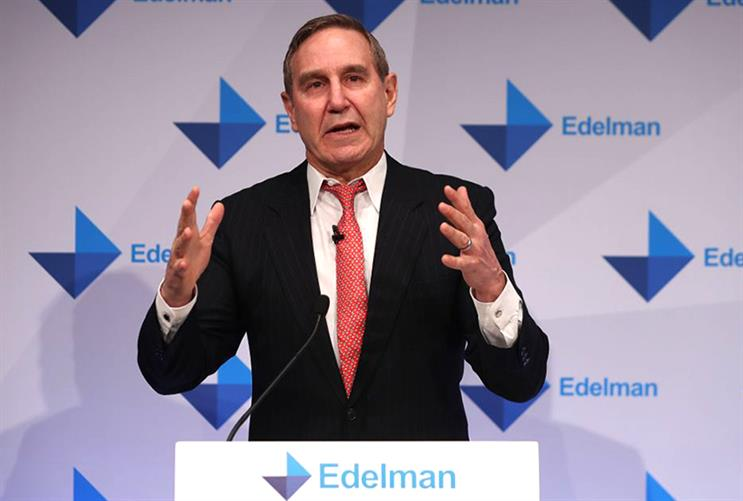 'The way forward for the industry is Action Communications,' says Richard Edelman (Photo: DANIEL LEAL-OLIVAS/Getty Images)