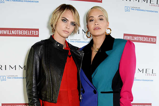 Cara Delevingne and Rita Ora helped launch the #IWILLNOTBEDELETED campaign