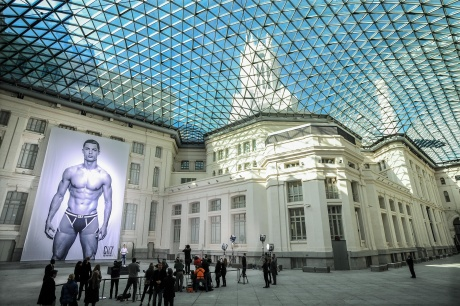 Fashion range: Ronaldo launches underwear collection in Madrid