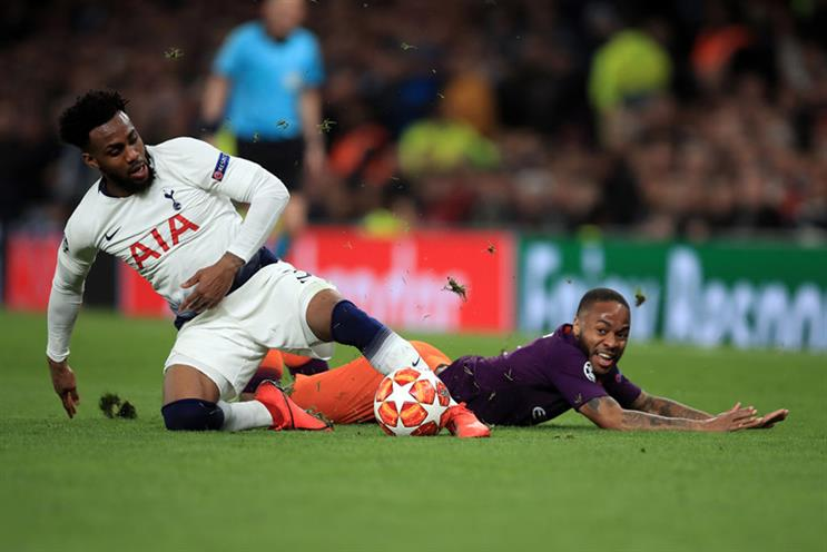 Danny Rose, left, and Raheem Sterling have both expressed concerns about football returning too soon. Photo: Getty Images.