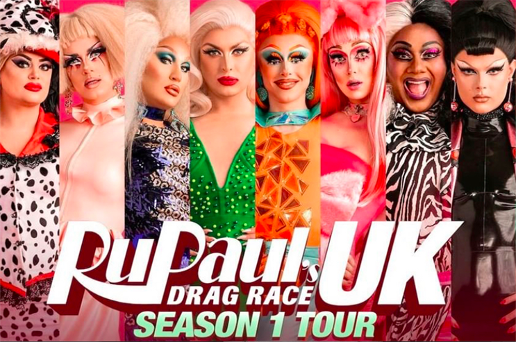 SEC Newgate agency chosen to promote RuPaul tours in the UK