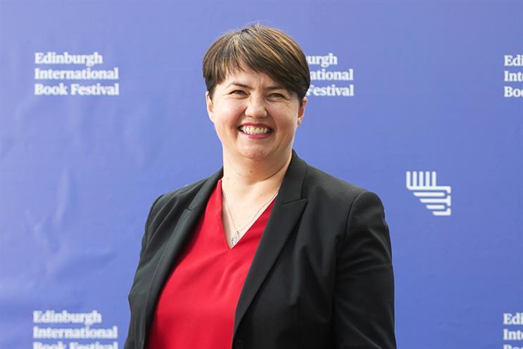 Edinburgh Central MSP Ruth Davidson will no longer join Tulchan