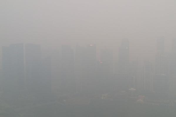 Singapore paper brands use haze to publicise clean CSR message