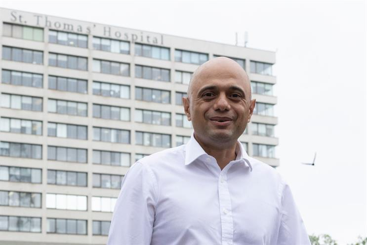 Health Secretary Sajid Javid visits St Thomas' Hospital in London, 28 June (photo by Dan Kitwood/Getty Images)