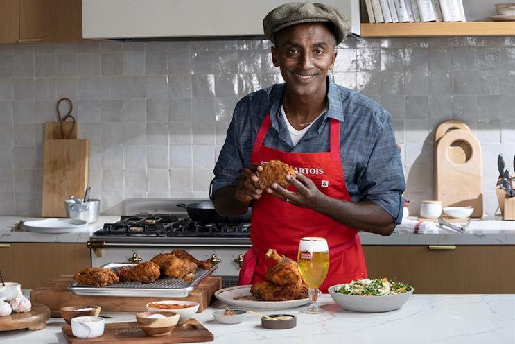 Stella Artois digitized chef Marcus Samuelsson's recipe for Fried Yardbird.