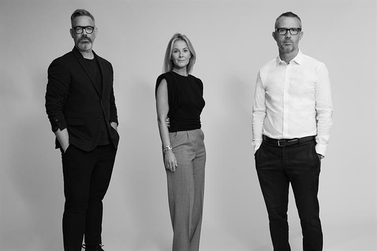 (L-R) Daniel Marks, Julietta Dexter and David Pemsel