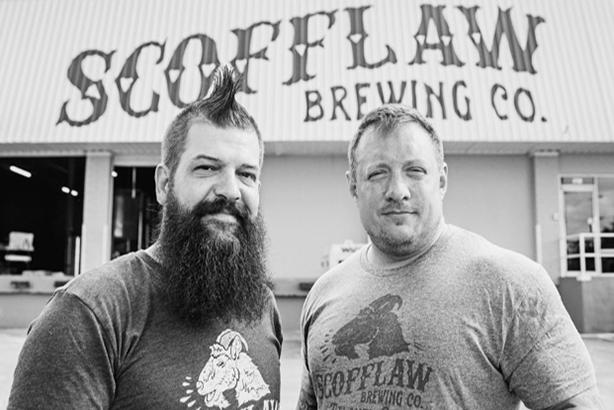 Scofflaw owners Travis Herman and Matt Shirah.