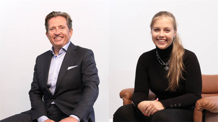 Your travel audiences have changed and so must your comms, say Simen Johannesen (L) and Charlotte Reksten (R)