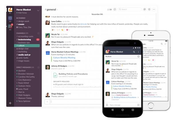 Fast-growing business messaging platform Slack hires Marlin PR to raise profile