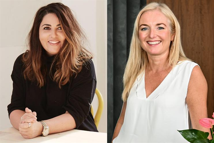 Don't be remembered as the heavy breather, and other tips for making a success of your virtual pitch, from Sophie Raine (L) and Louise Vaughan (R)