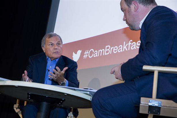 Sorrell: 'Revenge? That'd be building the new-era, new-approach agency'