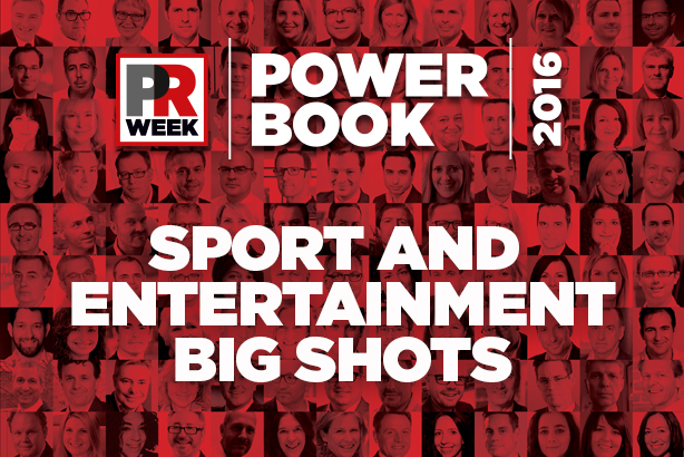 Power Book UK 2016: Top 10 sport and entertainment PR pros