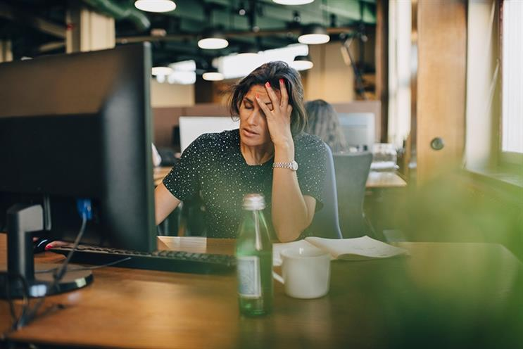 Six in ten PR pros say the major cause of stress is their workload (©GettyImages)
