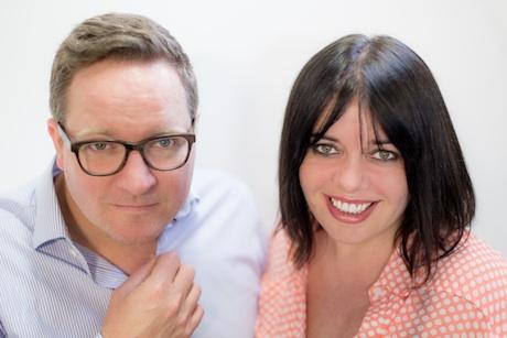 UP Communications: Co-founders Stuart Jackson and Lynne Arrowsmith
