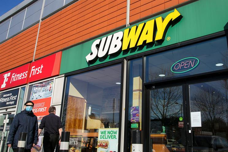 Subway hires consultancy for corporate and public affairs brief
