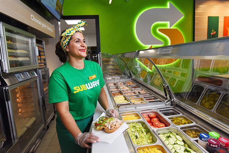 Subway hires UK consumer PR agency