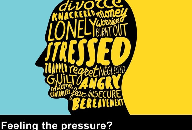 The City of London suicide prevention campaign will use posters encouraging people to 'release the pressure'