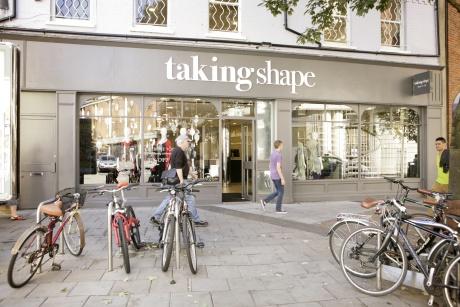 Taking Shape: stores across the UK