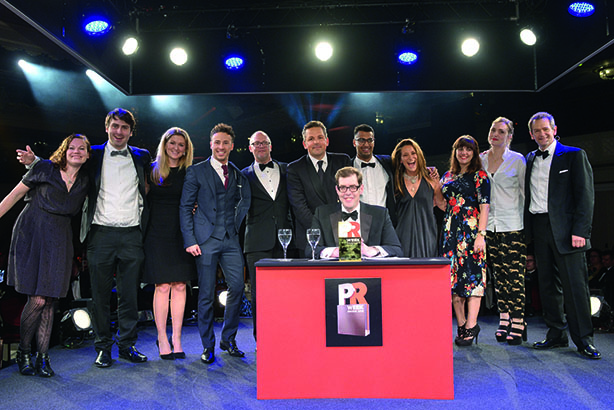 PRWeek UK Awards Winners 2016: Small Consultancy of the Year (UK fees less than £2m)
